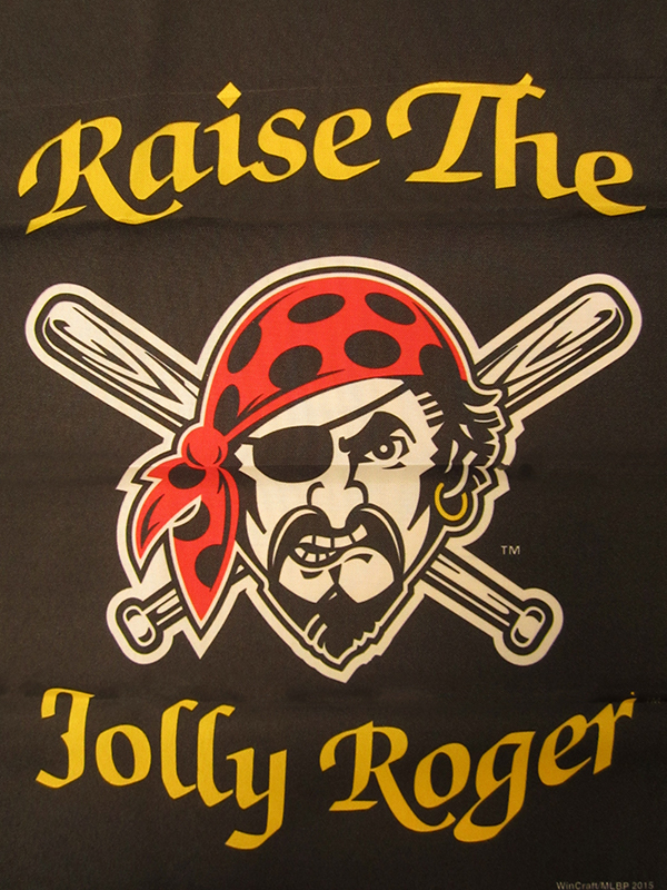 Raise the Jolly Roger! Get Your PBGH Pirates Skull & Crossbones Flag Ready!