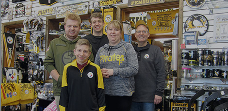 Staff of Crawford's Gift Shop