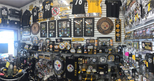 Steelers Merchandise at Crawford's Gift Shop - Your Black & Gold Headquarters