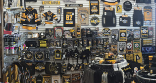 Penguins Merchandise at Crawford's Gift Shop - Your Black & Gold Headquarters