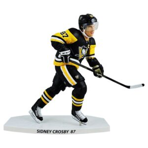 """Sidney Crosby Pittsburgh Penguins Champ LE 2018 NHL 6/"""" Figure Imports Dragon"""