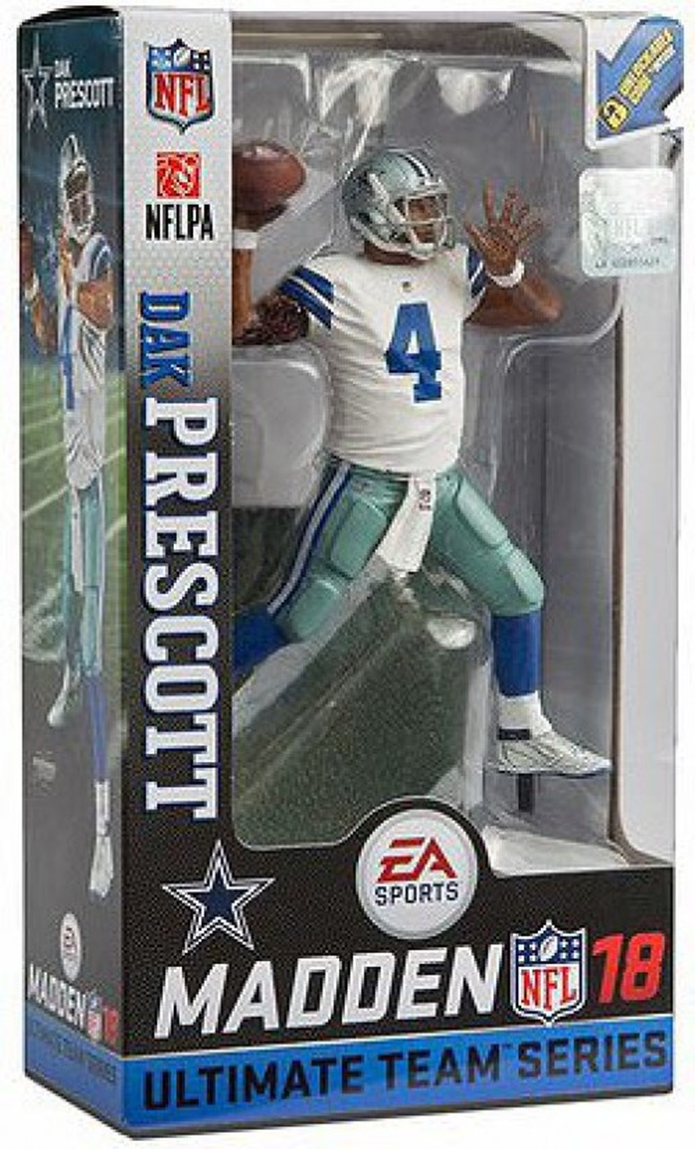 Dallas Cowboys/Away Jersey NFL Action Figure Set