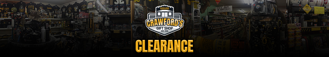 Clearance Room - Crawford's Gift Shop - Your Black & Gold Headquarters