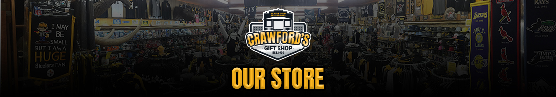 Our Store - Crawford's Gift Shop - Your Black & Gold Headquarters