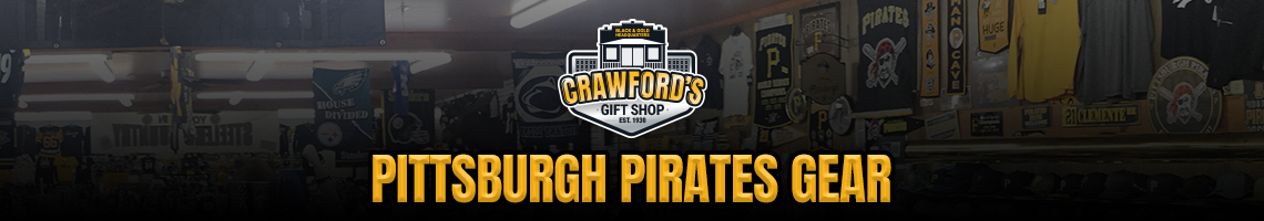 Pirates - Crawford's Gift Shop - Your Black & Gold Headquarters
