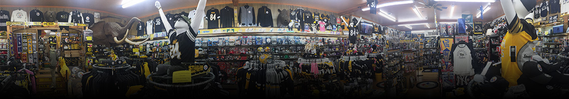 About - Crawford's Gift Shop - Your Black & Gold Headquarters